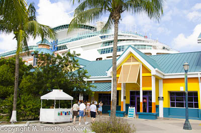 Festival Place at the Port of Nassau Bahamas