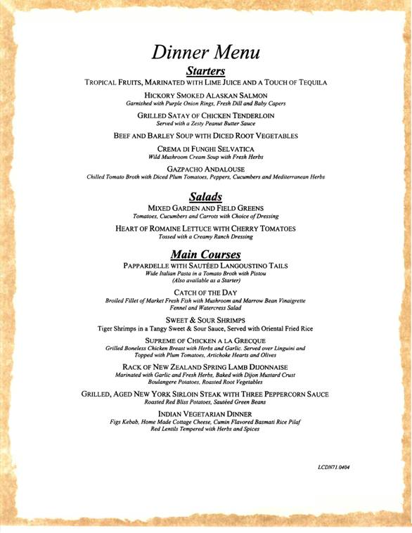 Carnival_dinner_menu_1 on Weather Seasons